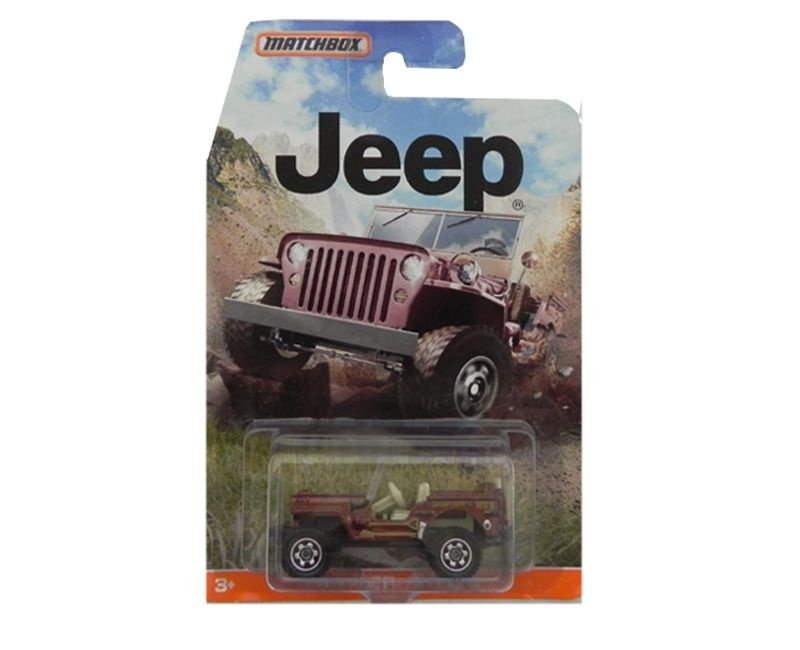 1943 JEEP WILLYS 1/64 MATCHBOX DJG66-0910