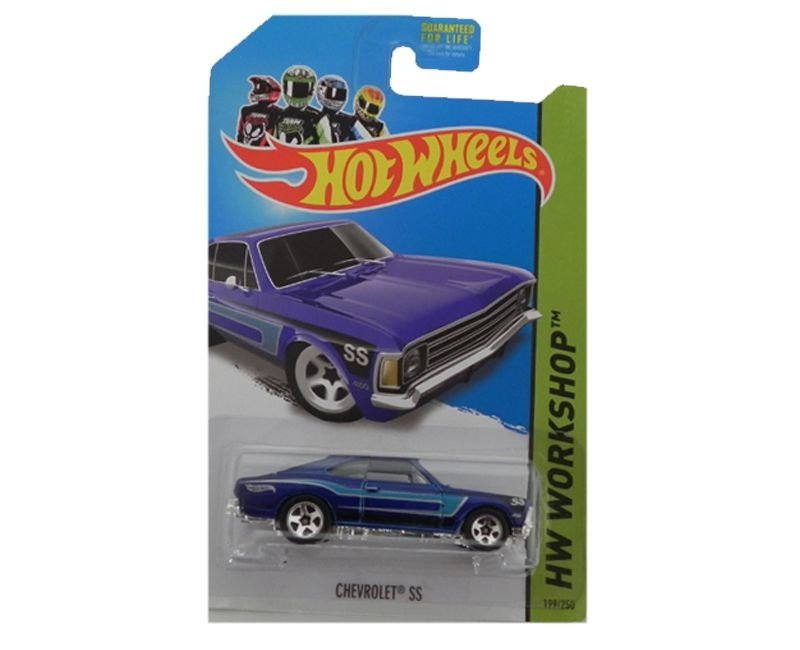 Chevrolet Ss 1/64 Hot Wheels Hw Workshop Bfd73-05B5