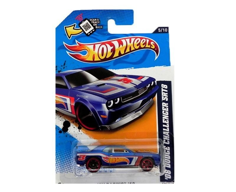 2008 DODGE CHALLENGER SRT8 1/64 HOT WHEELS HW RACING V5479-09A0L