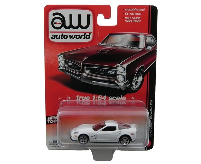 2012 Chevy Corvette Z06 1/64 Auto World Aw64001A