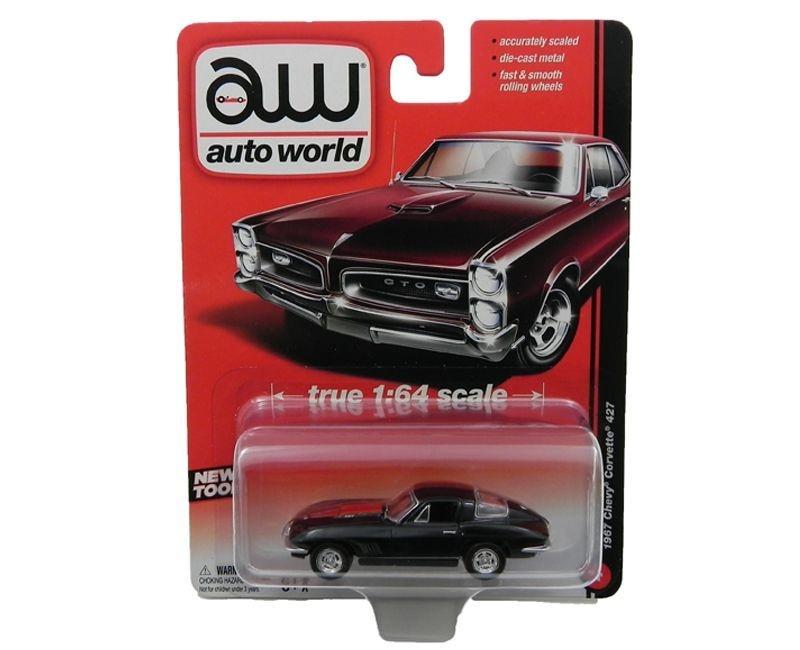 1967 Chevy Corvette C2 427 1/64 Auto World Aw64001A