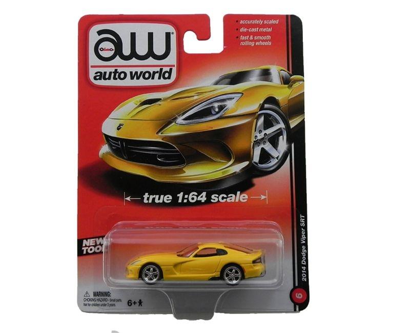2014 Dodge Viper Srt 1/64 Auto World Aw64011A