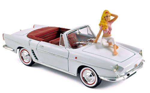 1958 Renault Floride Brigitte Bardot 1/18 Norev 185180