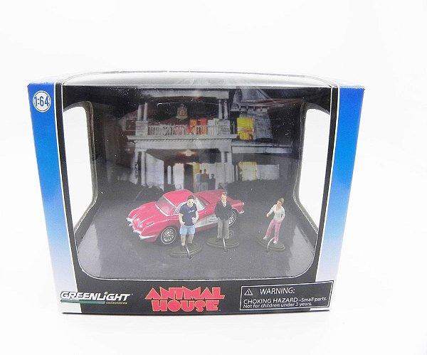 Diorama Animal House Chevrolet Corvette 1/64 Greenlight 56041