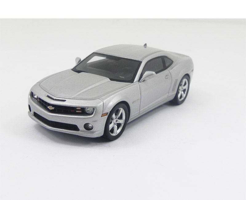 2011 Chevrolet Camaro Ss Coupe Silver Ice Metal 1/43 Luxury 101003