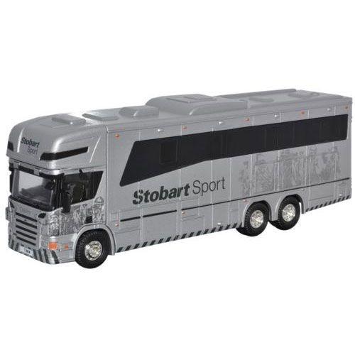 Eddie Stobart Scania P380 Horsebox Truck Caminhão 1/76 Oxford 76Sca03Hb
