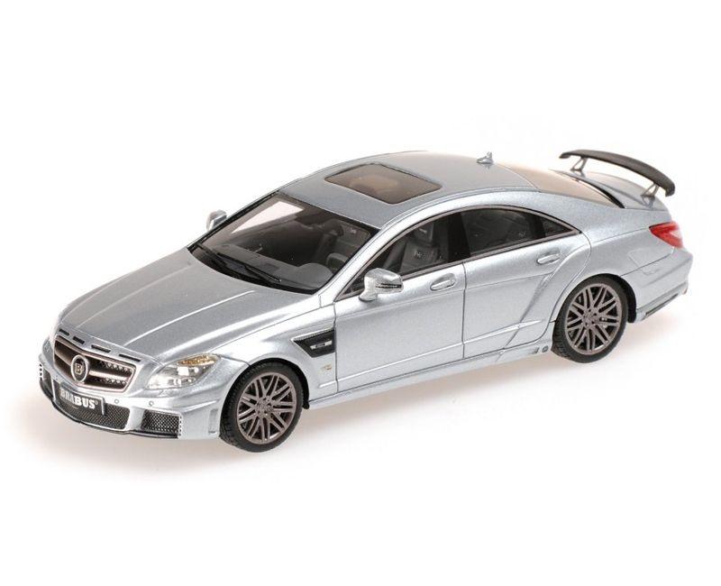 Mercedes-Benz Brabus Rocket 800 2012 Prata 1/43 Minichamps 437032031