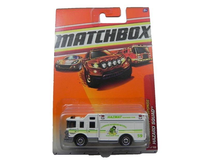 HAZARD SQUAD EMERGENCY RESPONSE 1/64 MATCHBOX T1551-0910