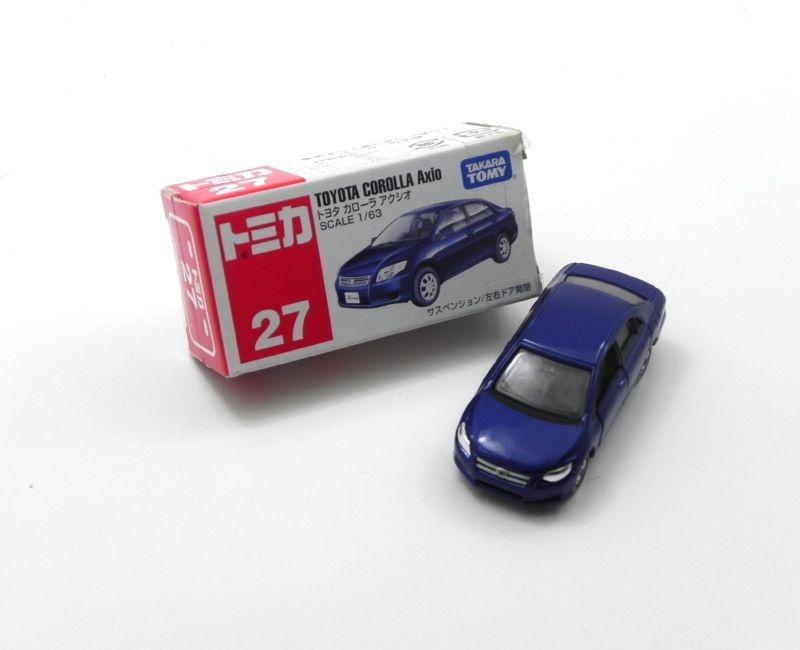 Toyota Corolla Axio 1/63 Tomica Series 27 Tca27