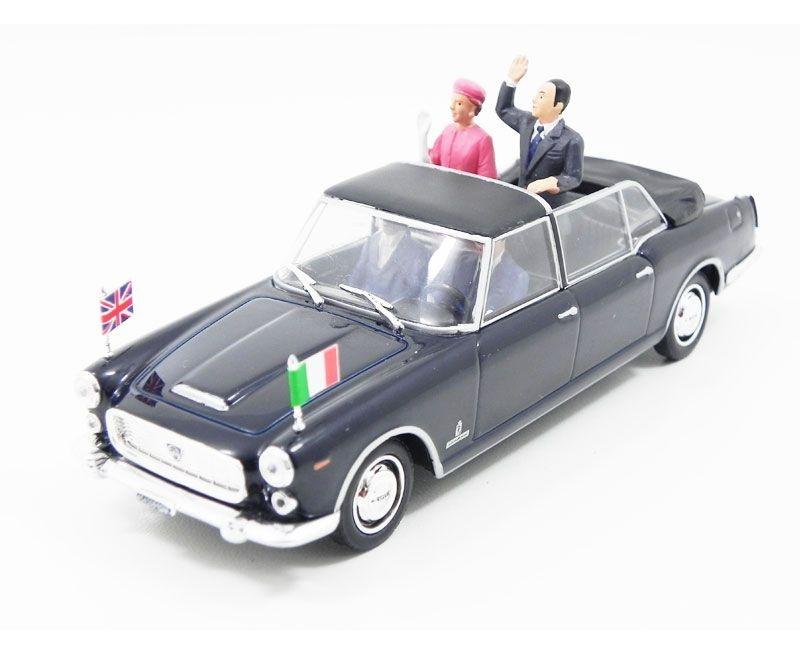 1961 LANCIA FLAMINIA PRESIDENZIALE HM QUEEN ELISABETH II ROME 1/43 STARLINE 560436