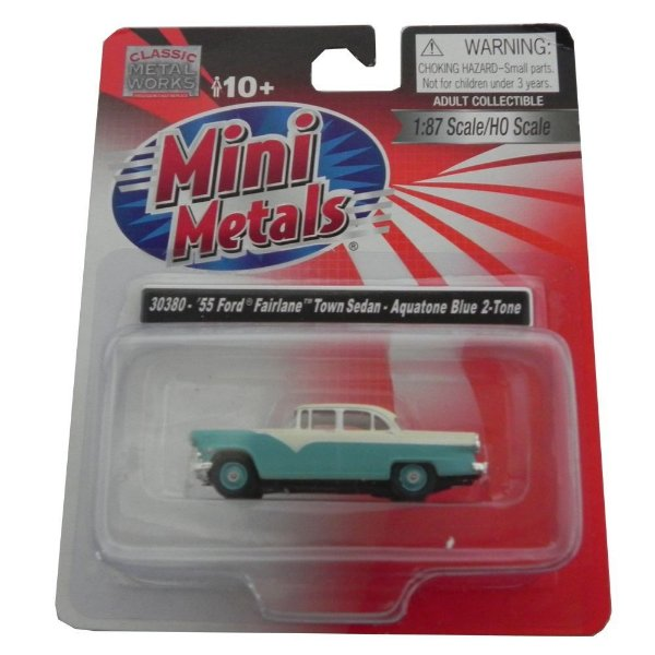 1955 Ford Fairlane Town Sedan 1/87 Classic Metal Works 30380