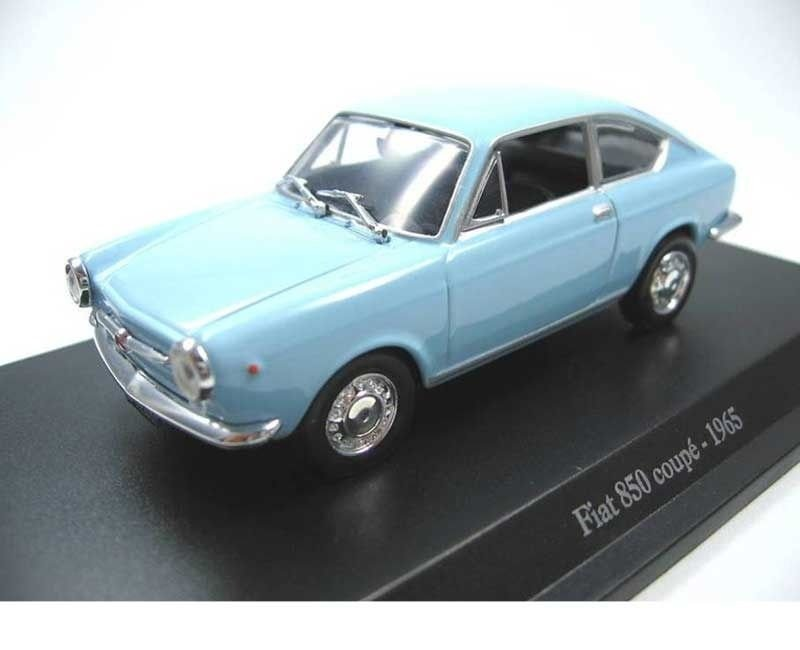 1965 FIAT 850 COUPÉ 1/43 Hachette
