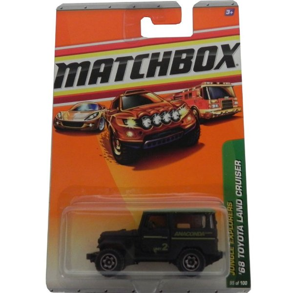 1968 TOYOTA LAND CRUISER JUNGLE EXPLORERS 1/64 MATCHBOX R5002-0910
