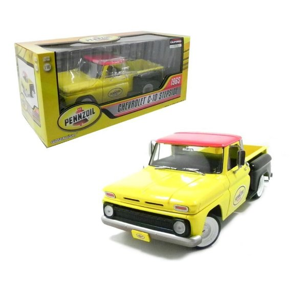 1965 Chevrolet C-10 Stepside Pennzoil 1/18 Greenlight 12873