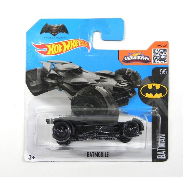 BATMOBILE BATMOVEL BATMAN VS SUPERMAN 1/64 HOT WHEELS DHP34-D5B5