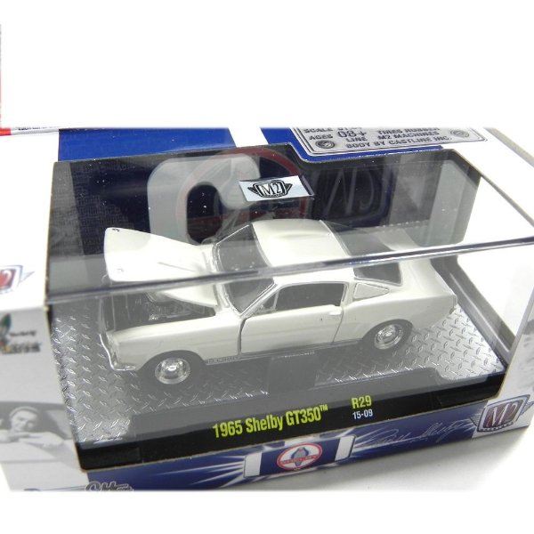 1965 Ford Shelby Gt350 1/64 M2 Machines 32600 R29
