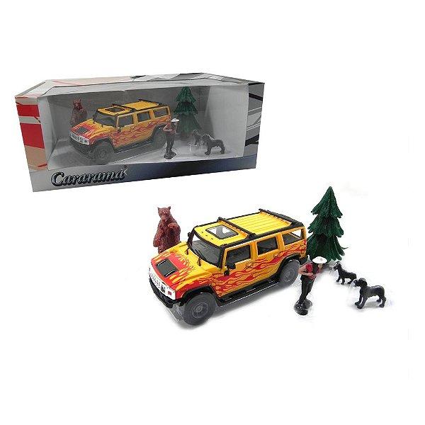 Diorama Hummer Adventure Series 1/43 Cararama 113-005