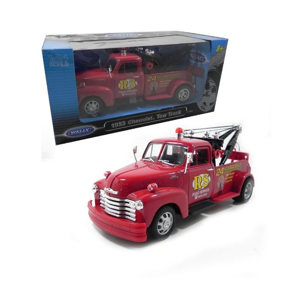 1953 CHEVROLET GUINCHO TOW TRUCK 1/24 WELLY 24086W
