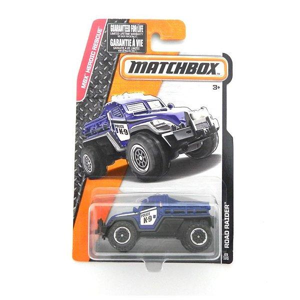 ROAD RAIDER MBX HEROIC RESCUE 1/64 MATCHBOX CFW47-0810