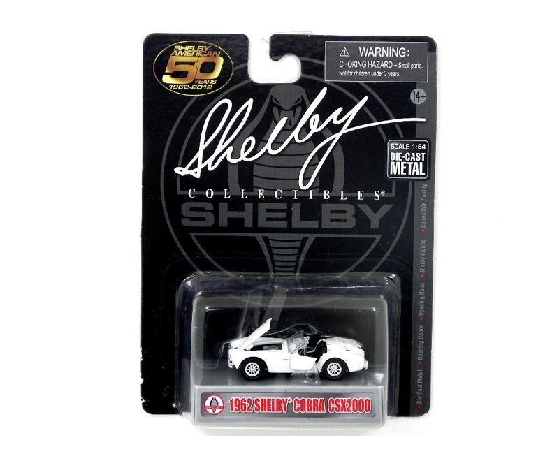 1962 SHELBY COBRA CSX2000 1/64 SHELBY COLLECTIBLES