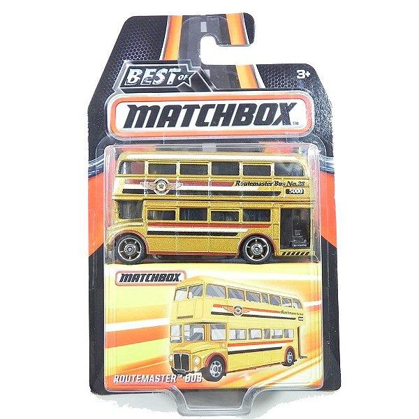 Ônibus Routemaster 1/64 Best Of Matchbox Dkc92-2B10