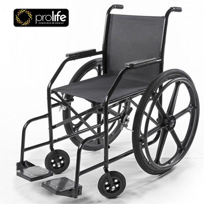 Cadeira de Rodas Modelo  PL002 com Pneu Inflável - ProLife