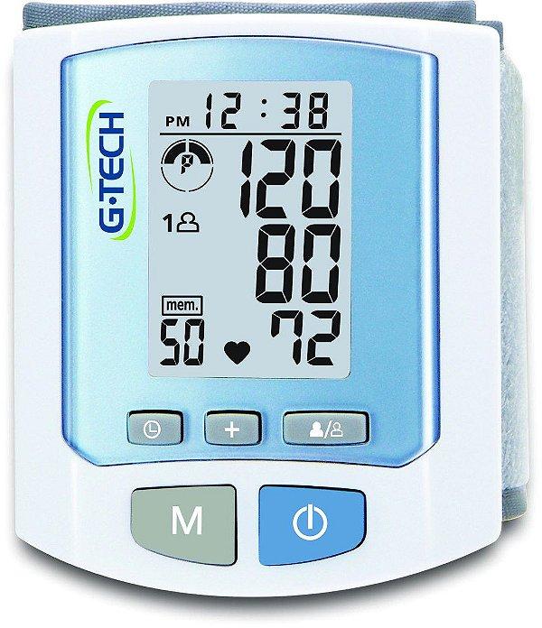 Aparelho de Pressão Digital de Pulso Automático RW450 - G-Tech