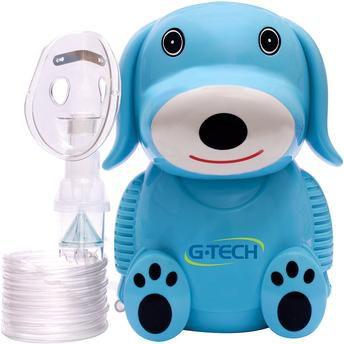 Inalador & Nebulizador NebDog Azul Bivolt - G-Tech