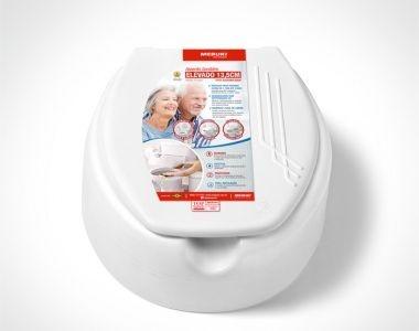 Assento Sanitário Elevado para Deficientes e Idosos 13,5 cm