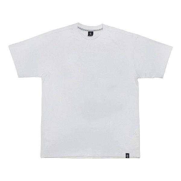 Camiseta básica branca lisa