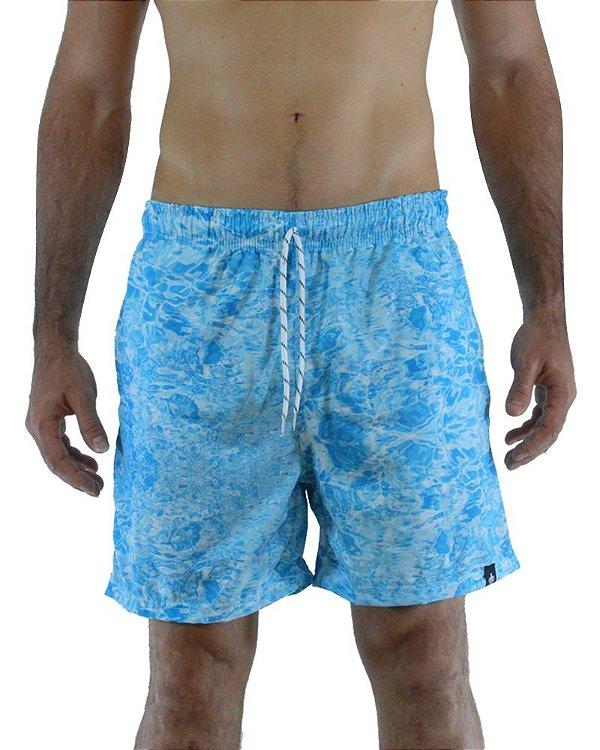 Short Beach Azul Aqua