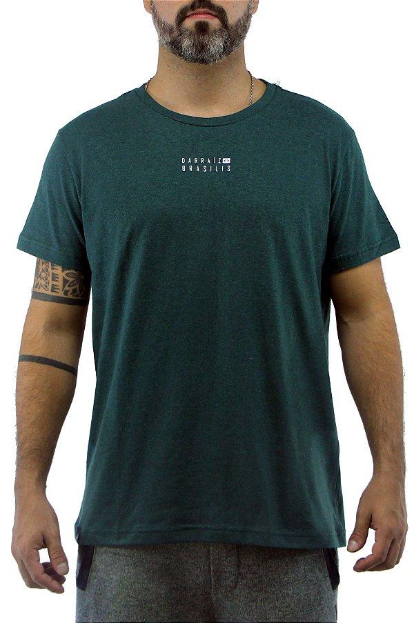 Camiseta Masculina Verde Brasilis