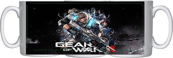 Caneca Cerâmica Gear Of War 4