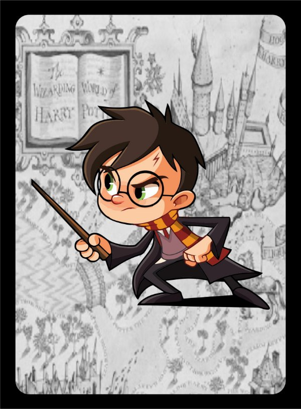PLACA DECORATIVA - Harry Potter 14X19CM PS1mm