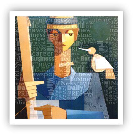 O Francisco do Max / Fine Art em Tela sem moldura - Manasses Andrade