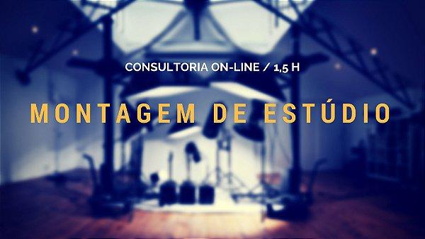 Consultoria de Estúdio Online 1:30h com Renato Rocha Miranda