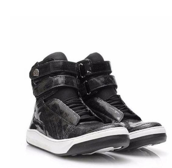 Botinha Hardcore Footwear Original Preta 2 velcros