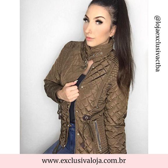 Jaqueta Nylon