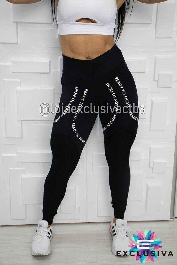 Legging Listras All Black