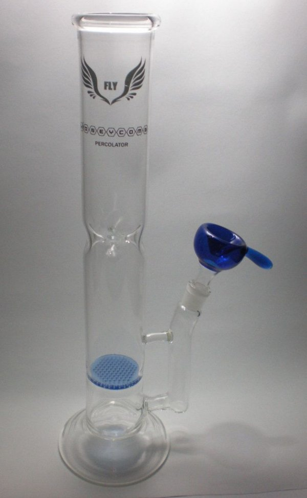 Bong de Vidro Honeycomb Percolator