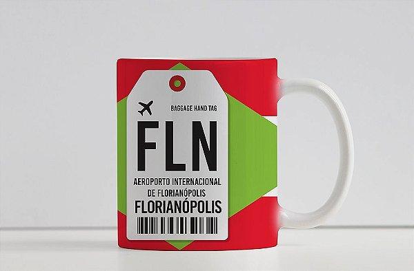 Caneca Aeroporto FLN, Santa Catarina - Florianópolis, Brasil