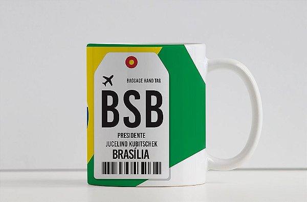 Caneca Aeroporto BSB - Presidente Jucelino Kubitschek - Brasília, Brasil