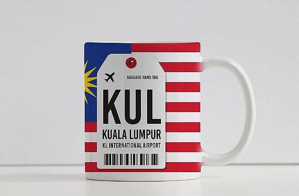 Caneca Aeroporto KUL Kuala Lumpur - Malásia