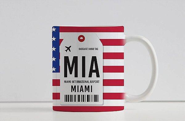 Caneca Aeroporto MIA, Miami- Estados Unidos