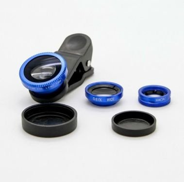 KIt Lentes Fisheye- Azul