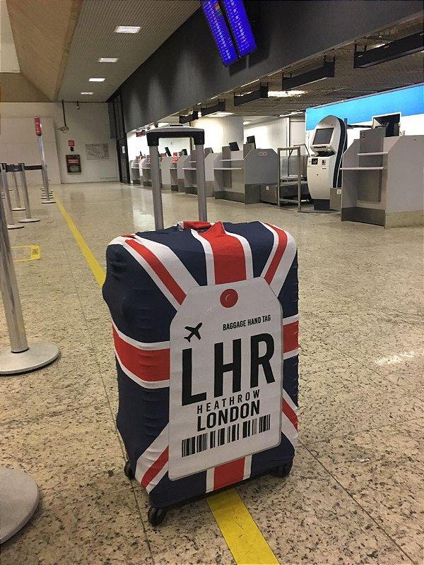 Capa de Mala Tamanho M- Aeroporto de Londres, Inglaterra - LHR