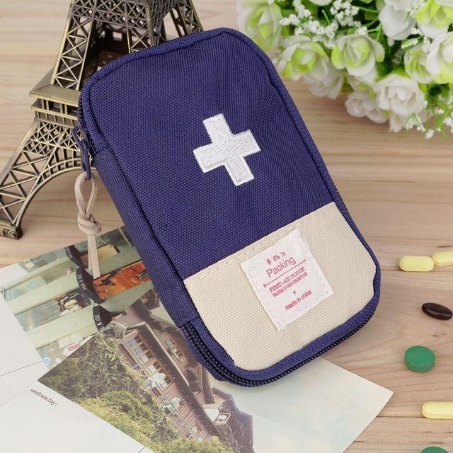 Necessaire Medicamentos Azul