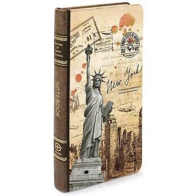 Caderno Viagem - New York