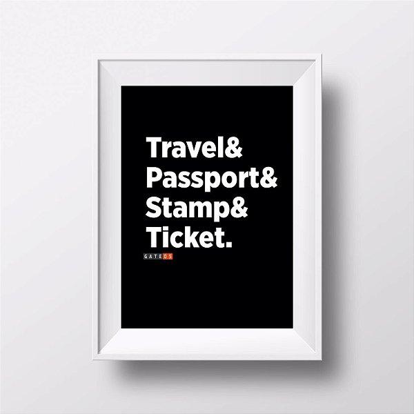 Pôster Travelers