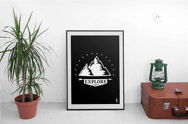 Pôster Explore